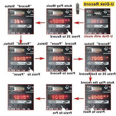 4 Mixer Mixing Bluetooth Record 48V Power