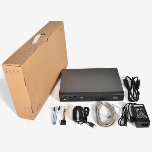 ANNKE 4CH POE Video Recorder HDMI