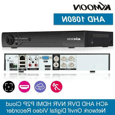 4ch channel dvr 1080p ahd h 265