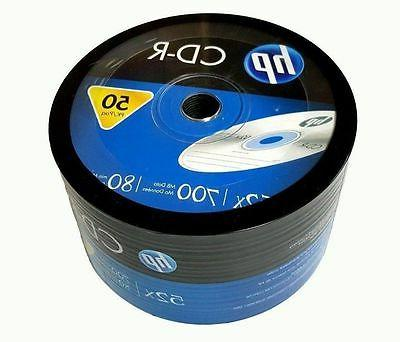 50 blank cd r cdr recordable logo