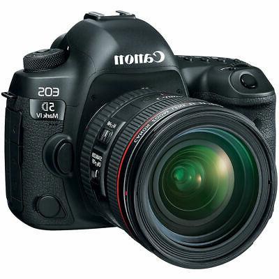 Canon 5D IV Full Camera Pro Memory Recording Bundle