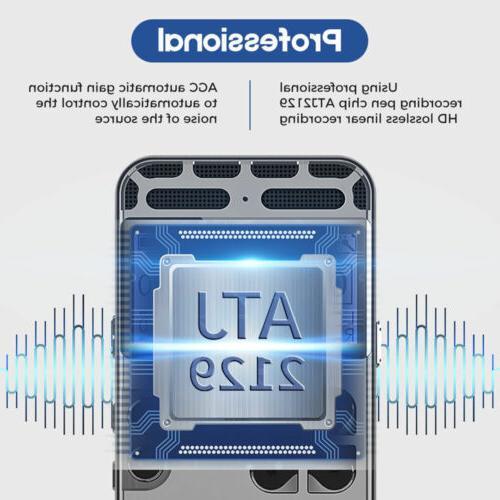 64G Audio Sound Recorder Dictaphone Player
