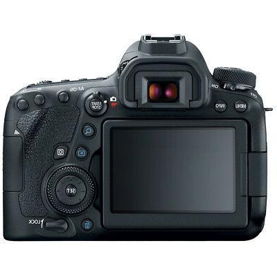 Canon 6D Full-Frame EOS DSLR Pro Memory Power Bundle