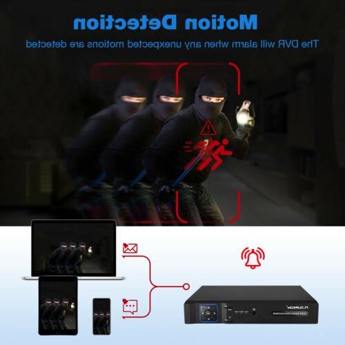 FLOUREON 1080N VGA Home Recorder DVR