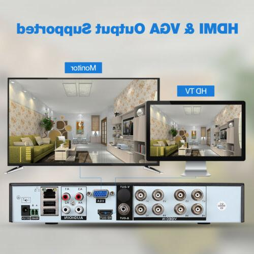 Surveillance 8CH AHD Home CCTV Video Recorder NVR