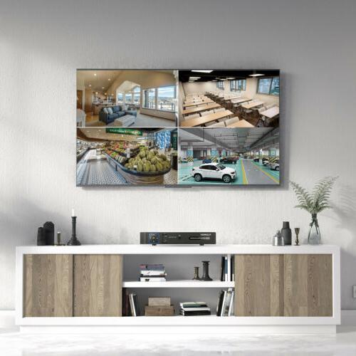 FLOUREON 1080N VGA CCTV Home Security DVR