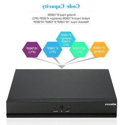 KKmoon 1080P NVR Video Recorder for Camera US