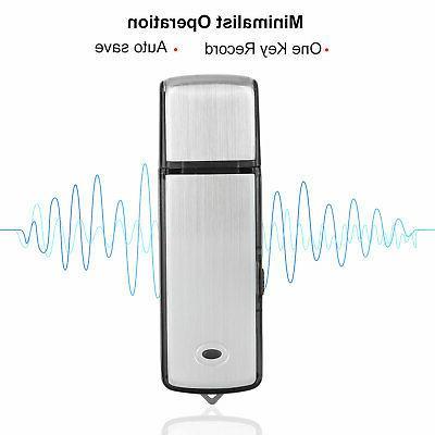 8GB/16GB Voice Digital Sound Dictaphone MP3 Player