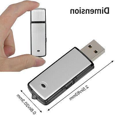 8GB/16GB Mini Digital Audio Dictaphone Player