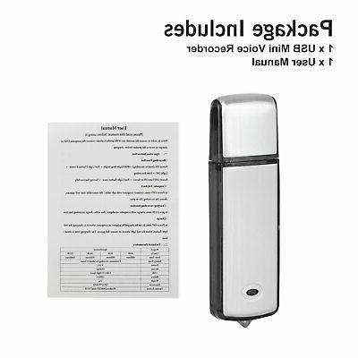 8GB/16GB Digital Dictaphone MP3 Player