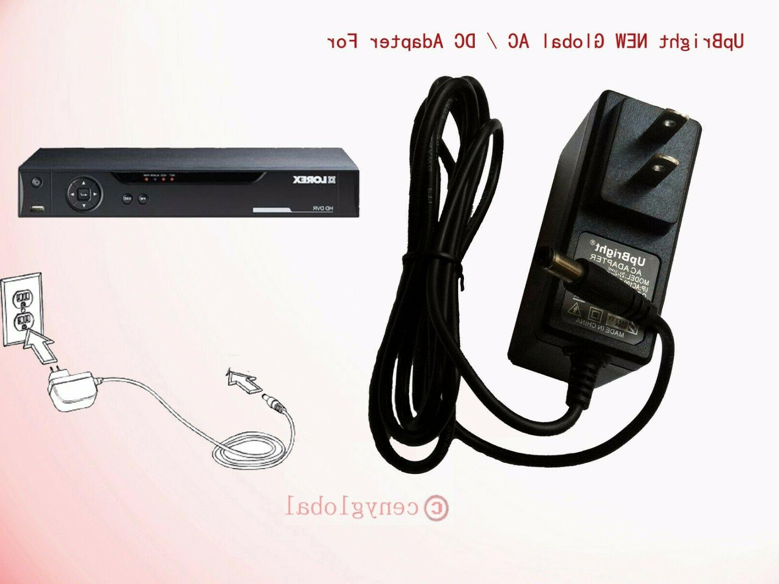Ac Adapter For Lorex 4k Ultra Hd Dvr Manual Guide