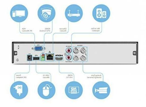 4CH Video Digital Recorder 4-Channel