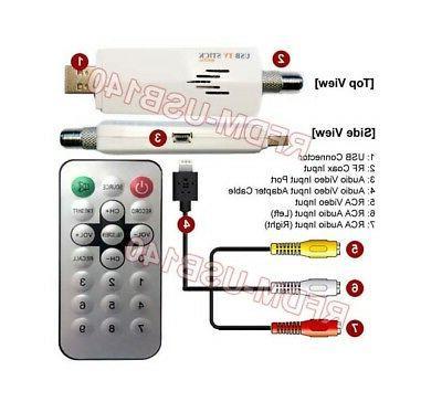 Universal Stick Recorder CATV Satellite