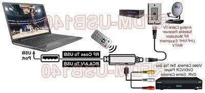 Universal Stick DVR CATV Satellite Media Players