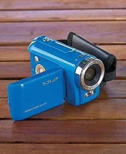 Blue Kids' Video Recorder Camera Toys Games Gifts Boys