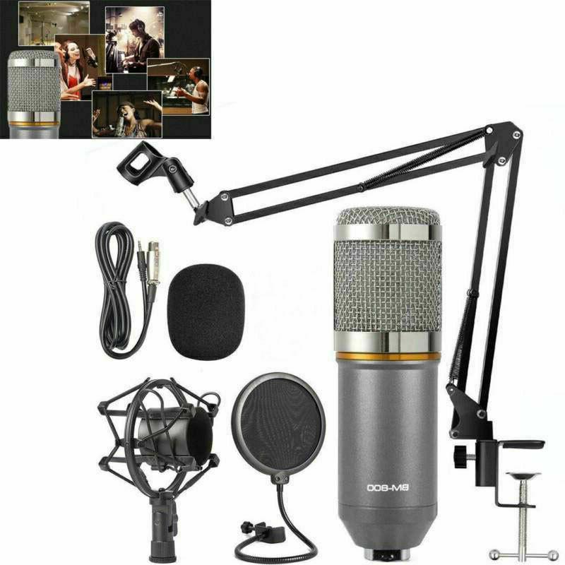BM-800 Microphone Kit Broadcasting Condenser