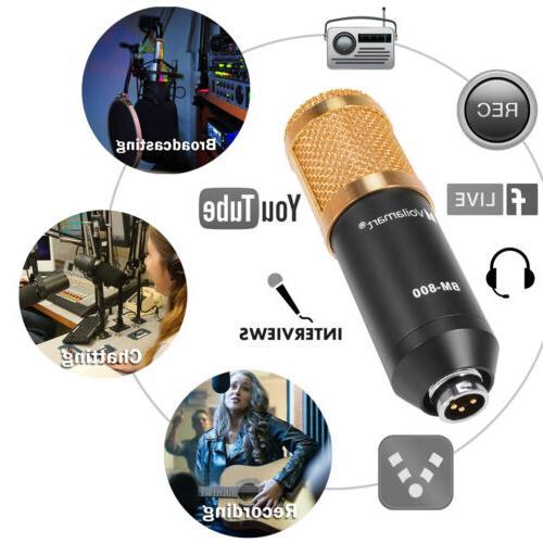 Condenser Kit Audio Recording Shock Mount