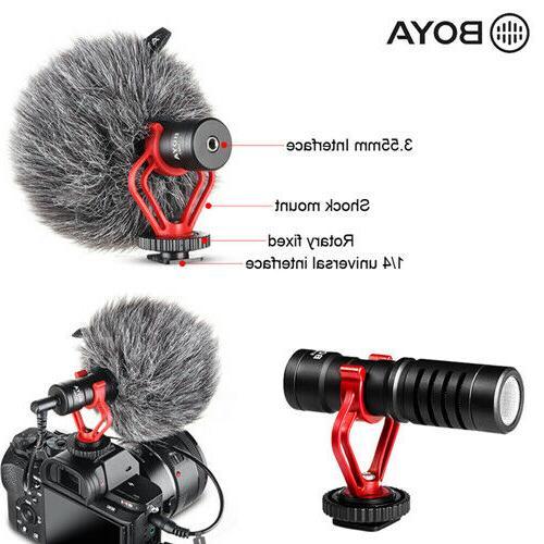 BOYA BY-MM1 Record Microphone Camera