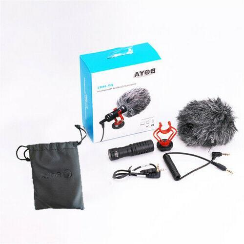 BOYA Microphone DSLR Camera Smartphone Youtube