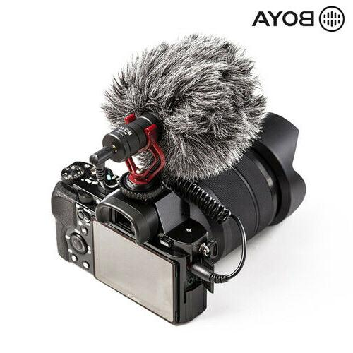 BOYA BY-MM1 Microphone for Camera Youtube