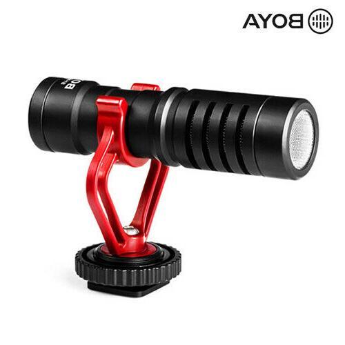 BOYA Video Record Microphone Camera Youtube