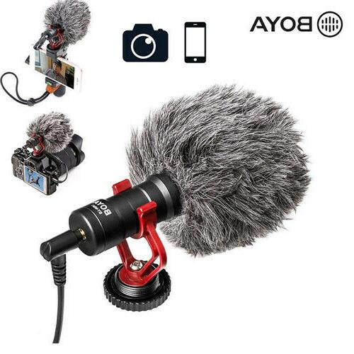 by mm1 video record microphone for canon