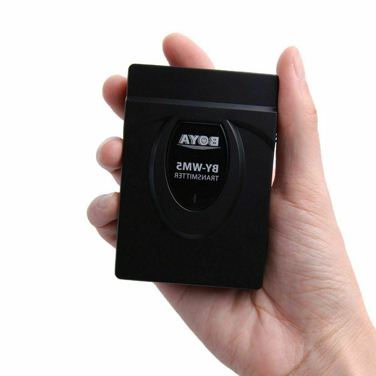 BOYA Studio Recorder Wireless Lavalier Microphone System For