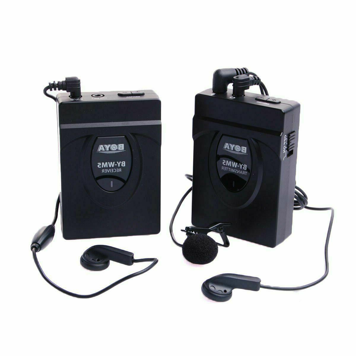 by wm5 studio recorder wireless lavalier lapel