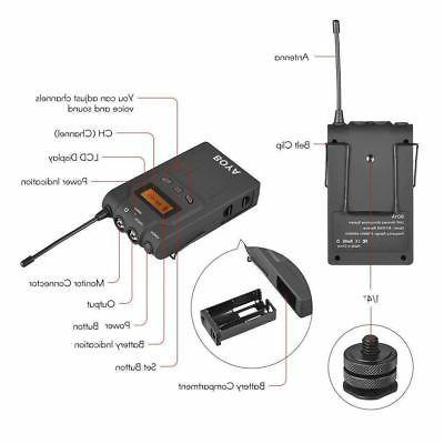 Boya BY-WM6R BY-WXLR8 Kit Wireless System