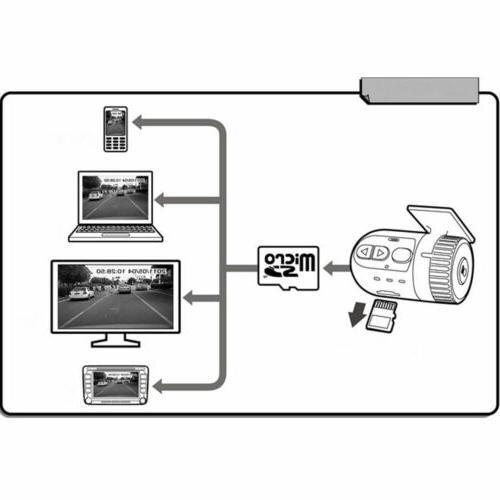 Car Dash Cam Video HD G-Sensor with 12V