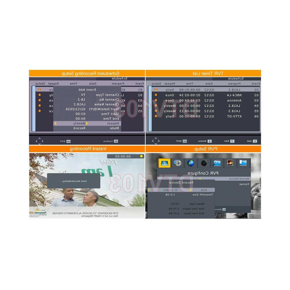 Digital HD Tuner + HDMI/YPbPr/RCA A/V