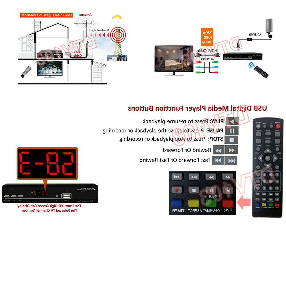 Digital Tuner + HDMI/YPbPr/RCA