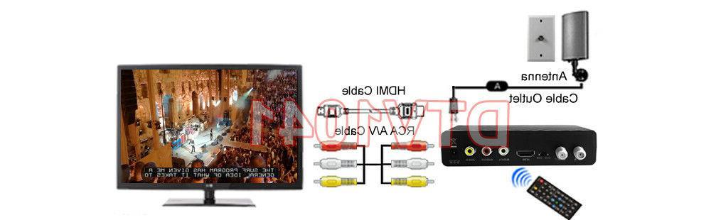Digital ATSC with USB DVR Recording / Media For US Canada