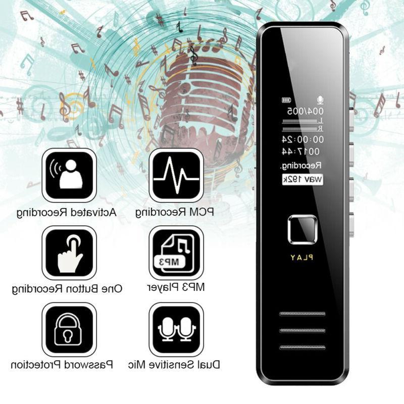 Digital Mini Voice Sound Dictaphone Handheld