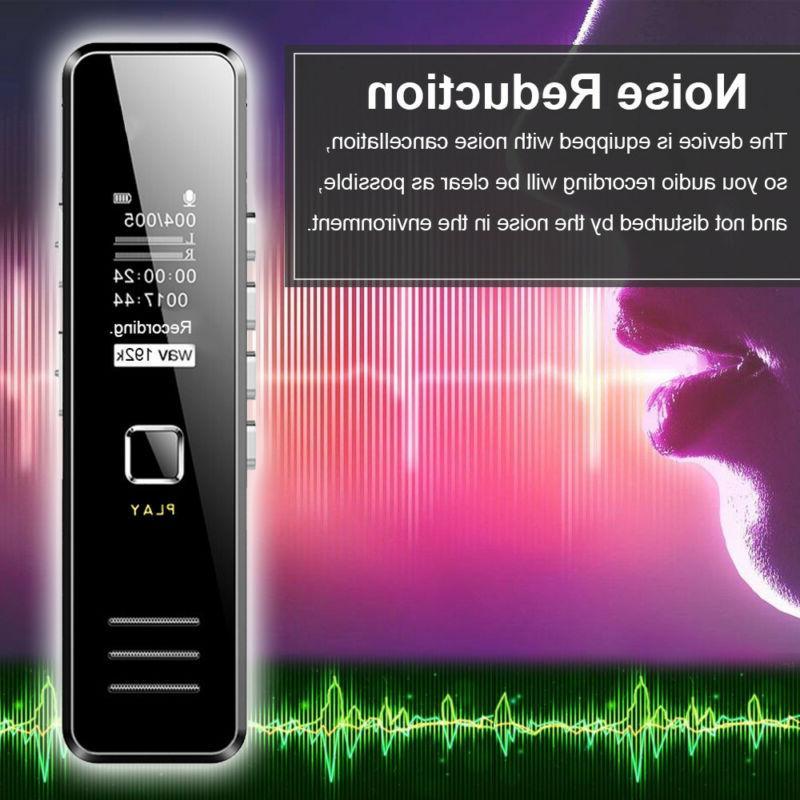 Digital Mini Voice Sound Dictaphone Handheld Recording