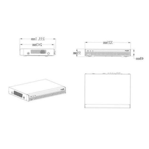 Dahua Digital 8CH Penta-brid Mini IP XVR5108H-S2
