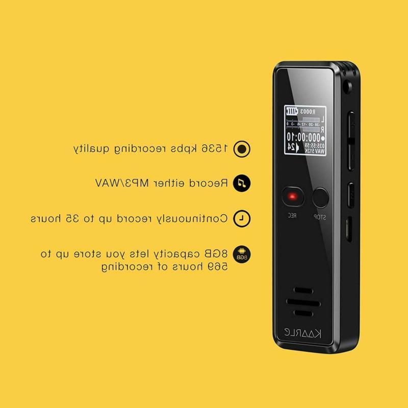 Digital Recorder - Mini Recorder