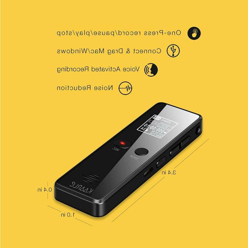 Digital Voice Activated Recorder Microphone