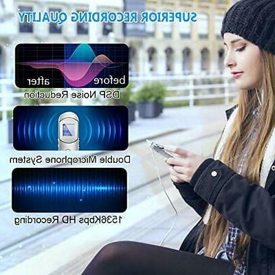 Digital Voice Recorder, 16GB Activated Recorder