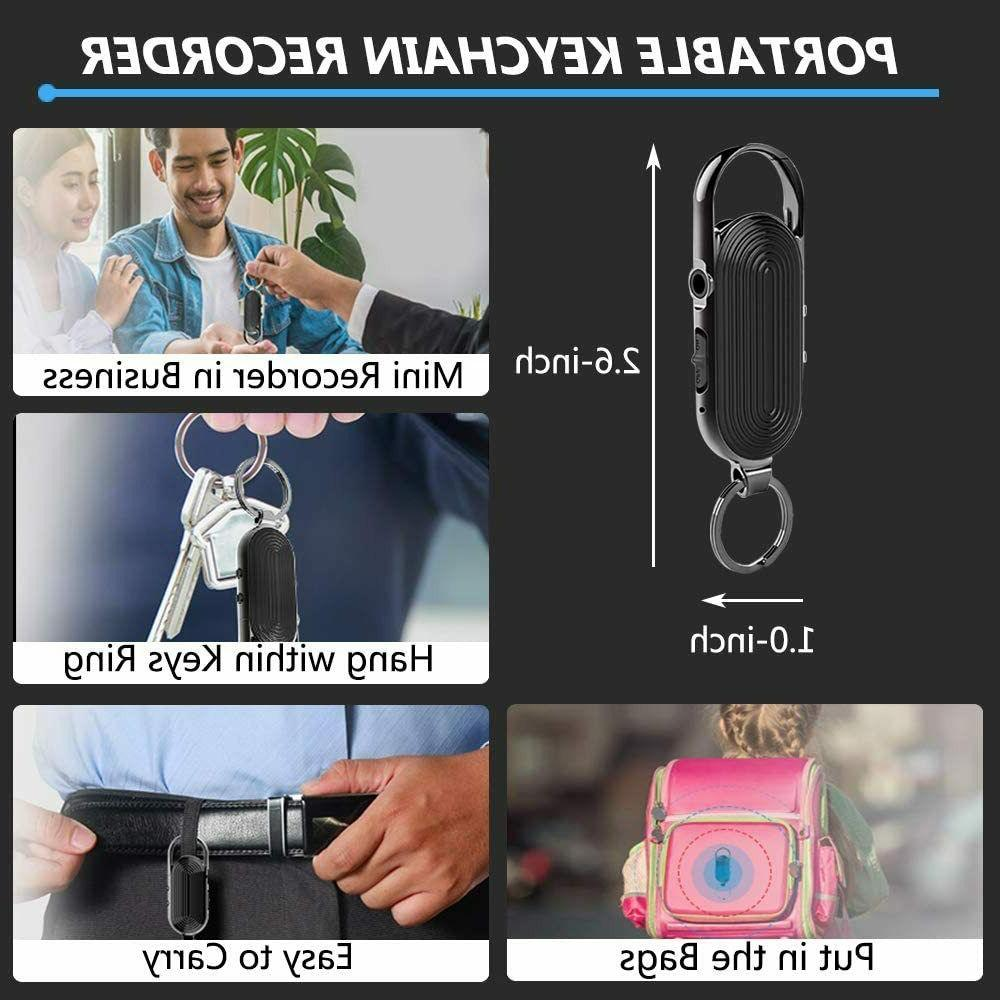 Digital Recorder, Keychain Recorder for