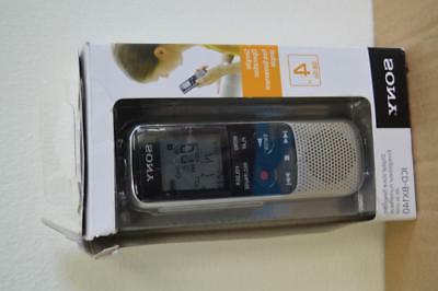 digital voice recorder icd bx140 4gb go