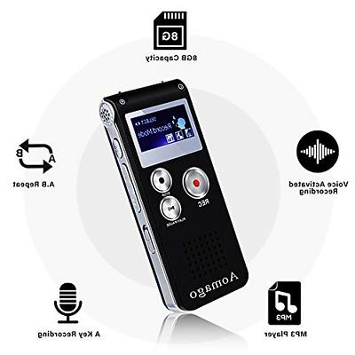 digital voice recorder voice activated recorder