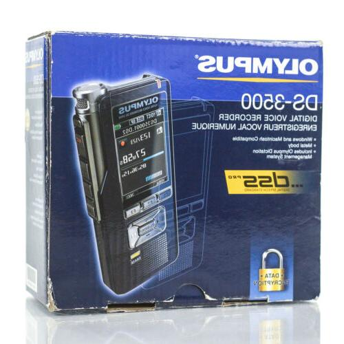 Olympus DS-3500 Professional Rechargeable Voice -