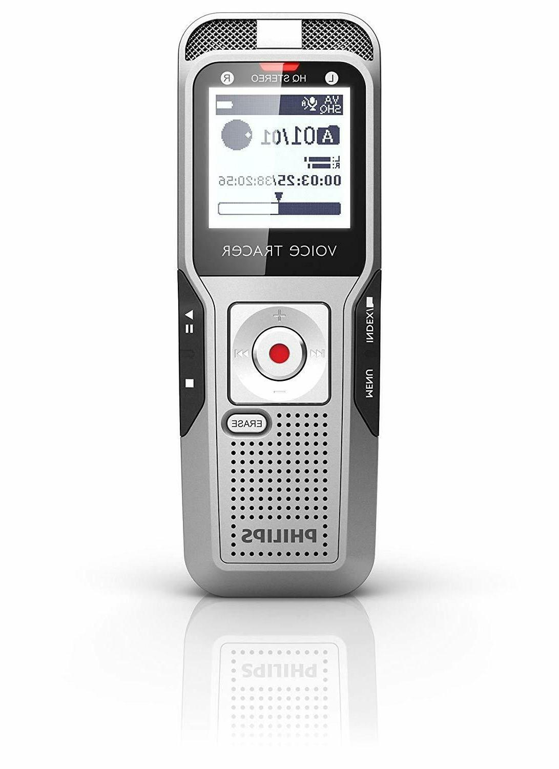 dvt3100 digital voice tracer and recorder new