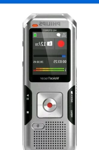 dvt4100 voicetracer digital voice recorder dragon certified