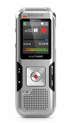 Philips DVT4100 VoiceTracer Digital Voice Recorder, Dragon C