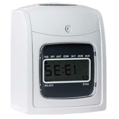 Electronic Recorder Clock Display w Cards Office