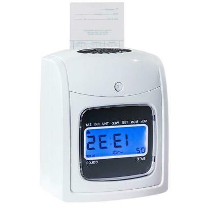 Electronic Recorder Clock LCD Display w