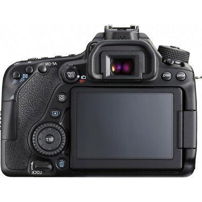 Canon EOS DSLR Camera Lens Memory Triple Kit