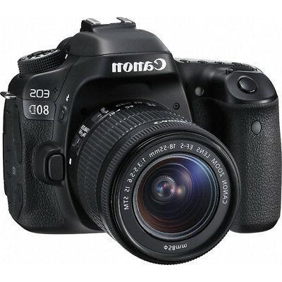 Canon 80D Camera Memory
